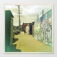 Fifteenth St. San Francisco Canvas Print