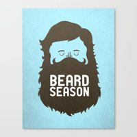 Beard Season Canvas Print