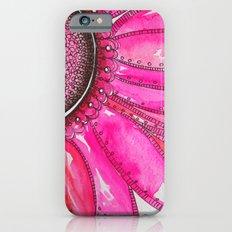 Gerber Daisy Watercolor Print Slim Case iPhone 6s