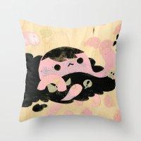 Attack! Throw Pillow