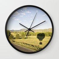 away we go::denver Wall Clock