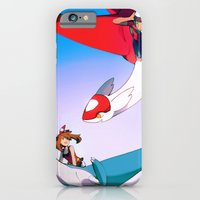 iPhone & iPod Case featuring Eon Flute by Blue