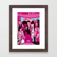 Pulp Fiction Framed Art Print