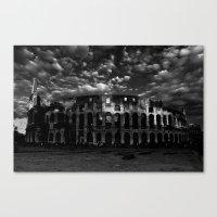 Gladiators In Rome Canvas Print