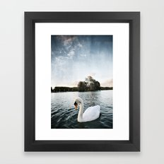 Le Lac des Cygnes Framed Art Print
