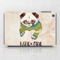 Hug A Pug iPad Case