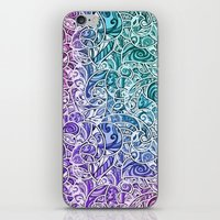 Tangle Pattern #002 iPhone & iPod Skin