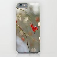 iPhone & iPod Case featuring ROSEHIP AND BOKEH by Aina