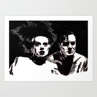 Dr Frankenstein And The … Art Print