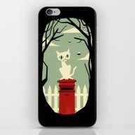 Let's Meet At The Red Po… iPhone & iPod Skin