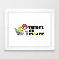 there's no escape Framed Art Print