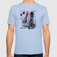 Warsaw Uprising, Poland - 1944 Mens Fitted Tee Athletic Blue SMALL