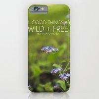 wild + free. iPhone 6 Slim Case
