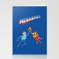 Mega Bros Stationery Cards