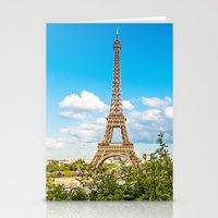 Cloud 9 - Eiffel Tower Stationery Cards