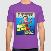 Artie! Mens Fitted Tee Ultraviolet SMALL