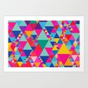 Party Colors II Art Print