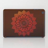 okshirahm woodcut iPad Case