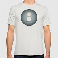 Full cookie rising Mens Fitted Tee Silver SMALL