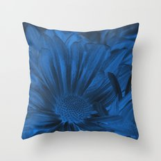 Midnight Blues Throw Pillow