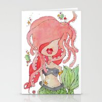 Suki -- Part Of The Merm… Stationery Cards