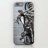 iPhone & iPod Case featuring Heritage Softail by Captive Images Photography