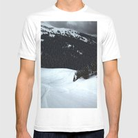 Loveland Pass Mens Fitted Tee White SMALL