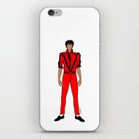 Thriller Jackson iPhone & iPod Skin