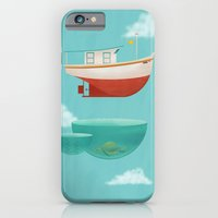 iPhone & iPod Case featuring Floating Boat by ErDavid