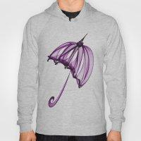 Purple Umbrella Hoody