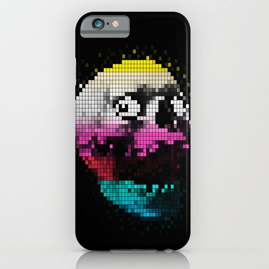 PIXEL SKULLY iPhone & iPod Case