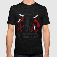 Boomstick Mens Fitted Tee Tri-Black SMALL