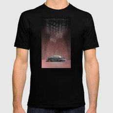 CHEVROLET BEL AIR Mens Fitted Tee Black SMALL