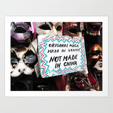 not-made-in-china Art Print