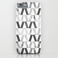 Triangles And Textures, … iPhone 6 Slim Case