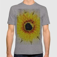 Sunflower from Water Mens Fitted Tee Athletic Grey SMALL