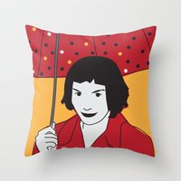 Le Fabuleux Destin Throw Pillow