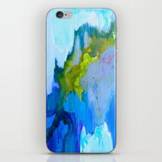 Flickering Cup - Light in the Caves iPhone & iPod Skin