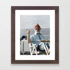 LIFE AQUATIC Framed Art Print