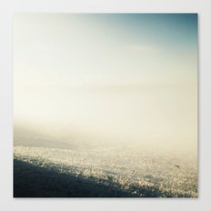 Out In The Morning, Into The Mist Canvas Print