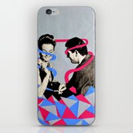Daterettes iPhone & iPod Skin
