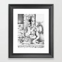 Annwn Framed Art Print