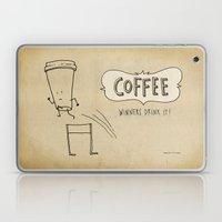 COFFEE  Winners Drink It! Laptop & iPad Skin