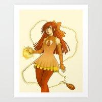 Gemsona-Topaz Art Print