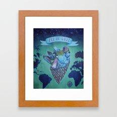 All is Well Framed Art Print
