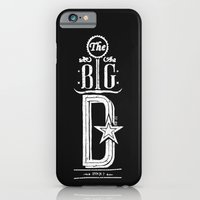 iPhone & iPod Case featuring The Big D (wht) by Victor Castro