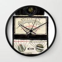 Analogue stack Wall Clock