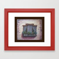 European Window Box AC15… Framed Art Print