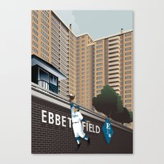 Ther Used to be a Ballpark Here Canvas Print