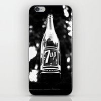 Classic 7up bottle iPhone & iPod Skin